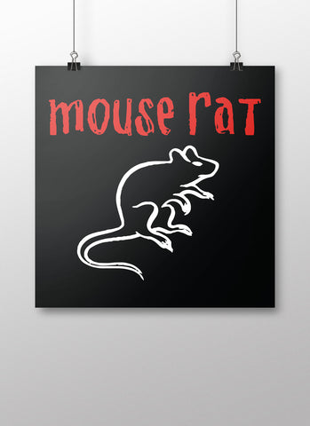Mouse Rat Poster - United State of Indiana: Indiana-Made T-Shirts and Gifts