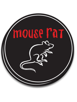 Mouse Rat Sticker - United State of Indiana: Indiana-Made T-Shirts and Gifts