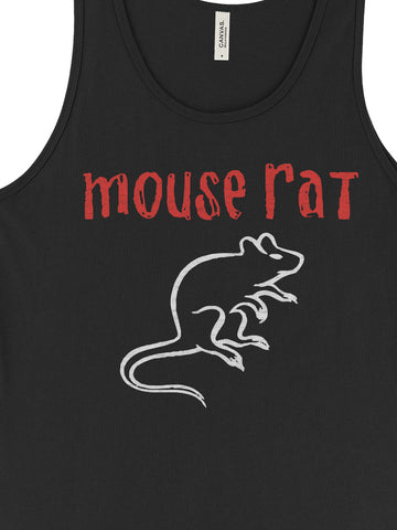 Mouse Rat Unisex Tank - United State of Indiana: Indiana-Made T-Shirts and Gifts