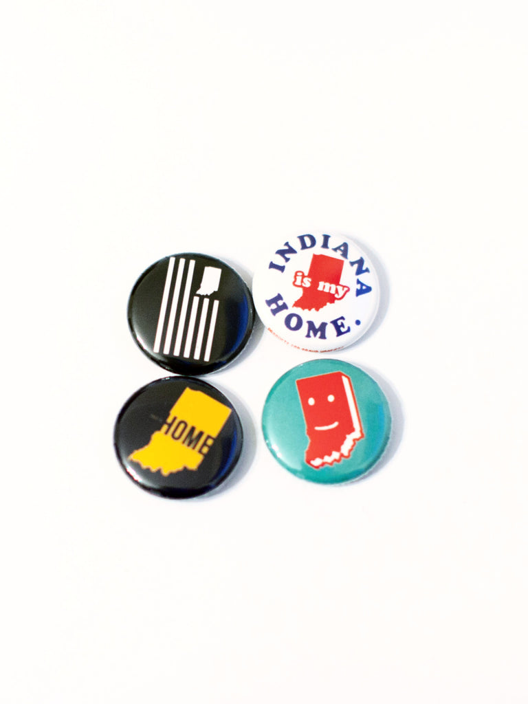 USI Buttons - United State of Indiana: Indiana-Made T-Shirts and Gifts