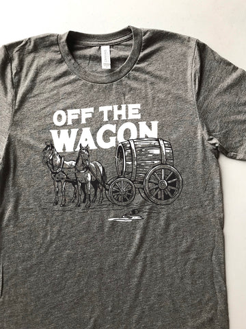 Off the Wagon Tee - United State of Indiana: Indiana-Made T-Shirts and Gifts