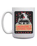 Pawnee Emergency Response Team Mug - United State of Indiana: Indiana-Made T-Shirts and Gifts