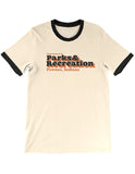 Parks and Recreation Department Unisex Ringer Tee