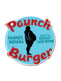 Paunch Burger Sticker