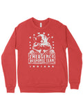 Pawnee Emergency Response Team Crewneck Sweatshirt - United State of Indiana: Indiana-Made T-Shirts and Gifts