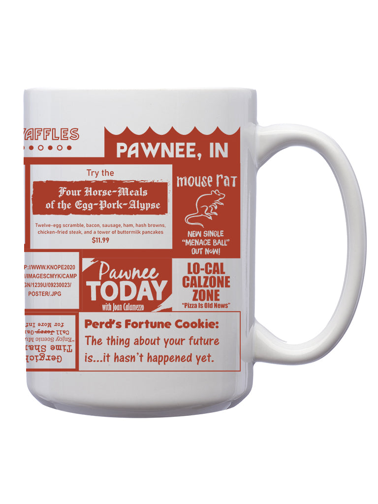 Pawnee Diner Mug - United State of Indiana: Indiana-Made T-Shirts and Gifts