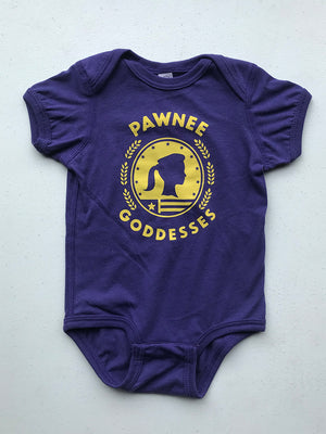 Pawnee Goddesses Onesie - United State of Indiana: Indiana-Made T-Shirts and Gifts