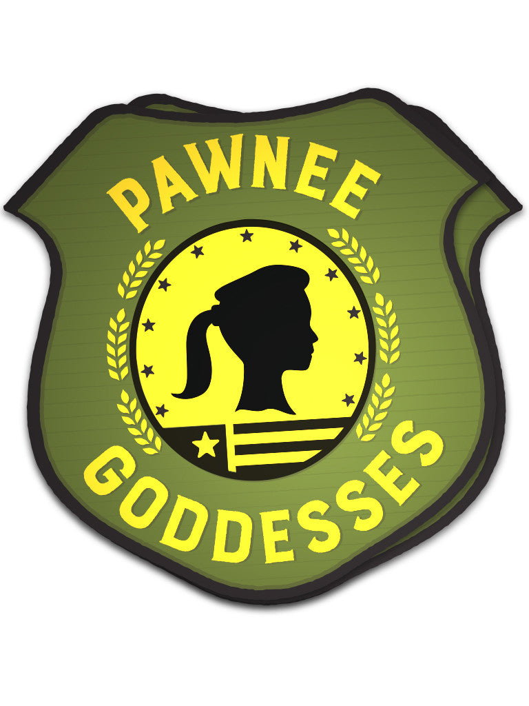 Pawnee Goddesses Sticker - United State of Indiana: Indiana-Made T-Shirts and Gifts