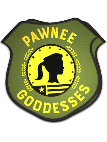 Pawnee Goddesses Sticker