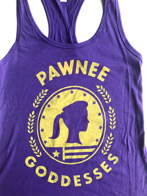 Pawnee Goddesses Women's Tank - United State of Indiana: Indiana-Made T-Shirts and Gifts