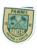 Pawnee Rangers Sticker
