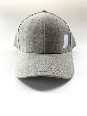 Indiana Cloth Golf Cap - United State of Indiana: Indiana-Made T-Shirts and Gifts