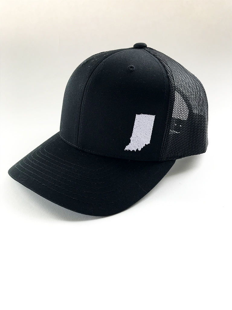 Indiana Mesh Trucker Cap - United State of Indiana: Indiana-Made T-Shirts and Gifts