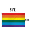 Pride Flag 3x5ft Poly Flag