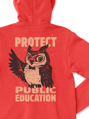 Protect Public Education Zip-Up Hoodie