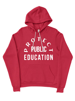 Protect Public Education Hoodie - United State of Indiana: Indiana-Made T-Shirts and Gifts