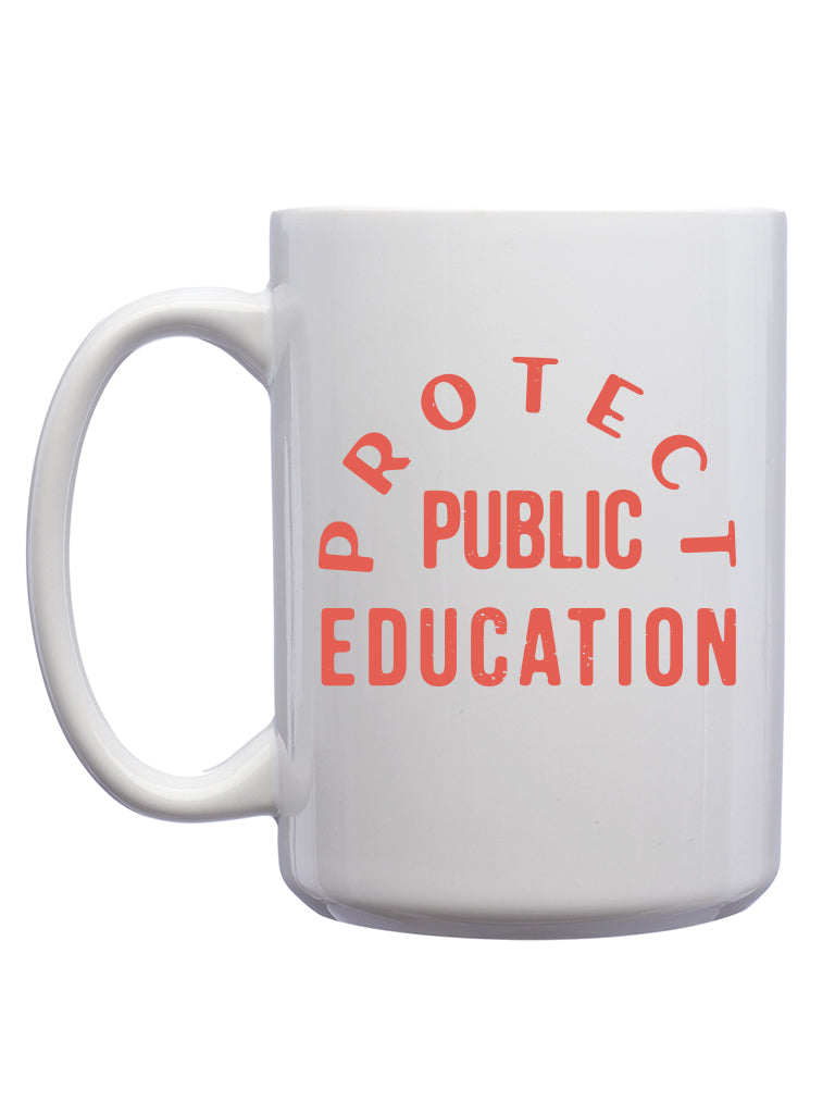Protect Public Education Mug - United State of Indiana: Indiana-Made T-Shirts and Gifts