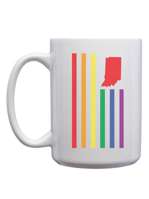 Rainbow USI Flag Mug