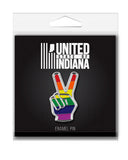 Rainbow Peace Enamel Pin
