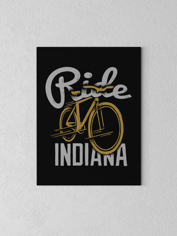 Ride Indiana Canvas - United State of Indiana: Indiana-Made T-Shirts and Gifts