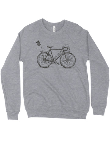 Ride Indiana Crewneck Sweatshirt - United State of Indiana: Indiana-Made T-Shirts and Gifts