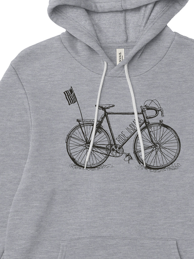 Ride Indiana Hoodie - United State of Indiana: Indiana-Made T-Shirts and Gifts