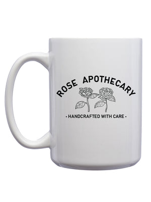 Rose Apothecary Mug - United State of Indiana: Indiana-Made T-Shirts and Gifts