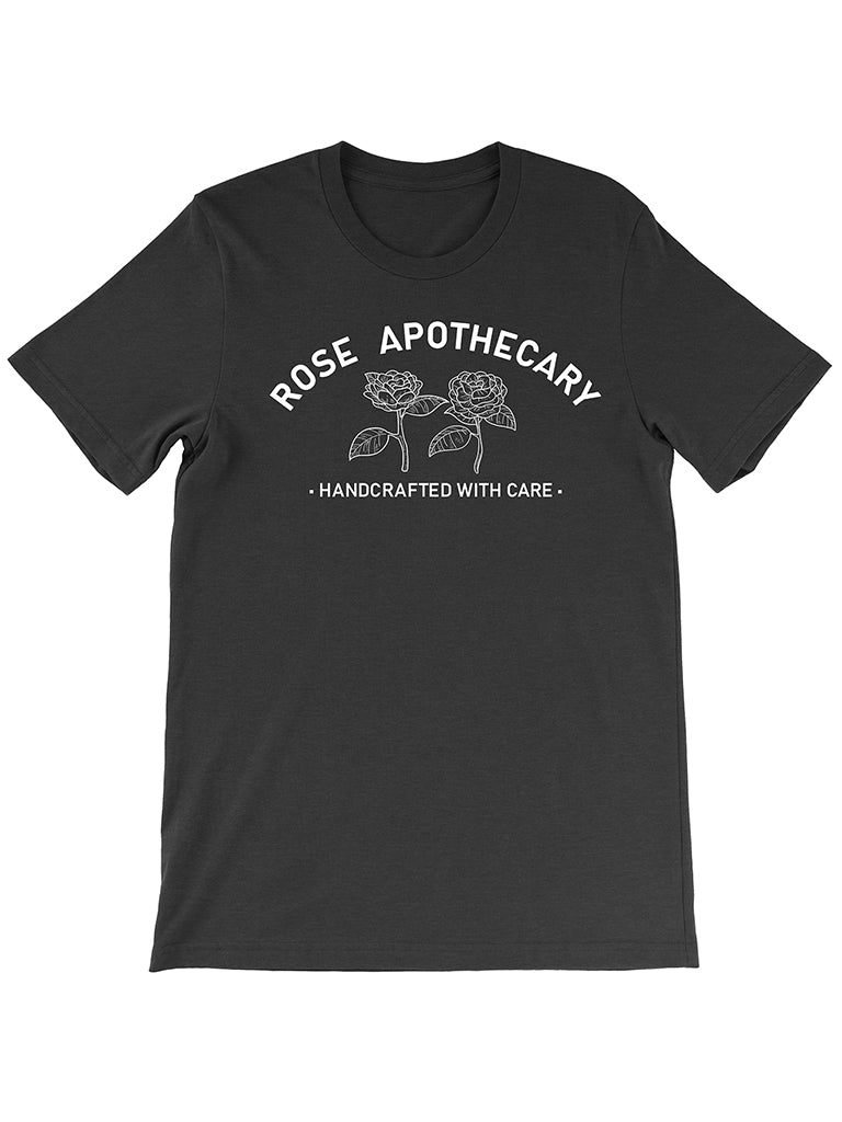 Rose Apothecary Tee - United State of Indiana: Indiana-Made T-Shirts and Gifts