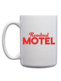 Rosebud Motel Mug - United State of Indiana: Indiana-Made T-Shirts and Gifts