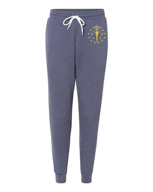 Torch and Stars Sweatpants - United State of Indiana: Indiana-Made T-Shirts and Gifts