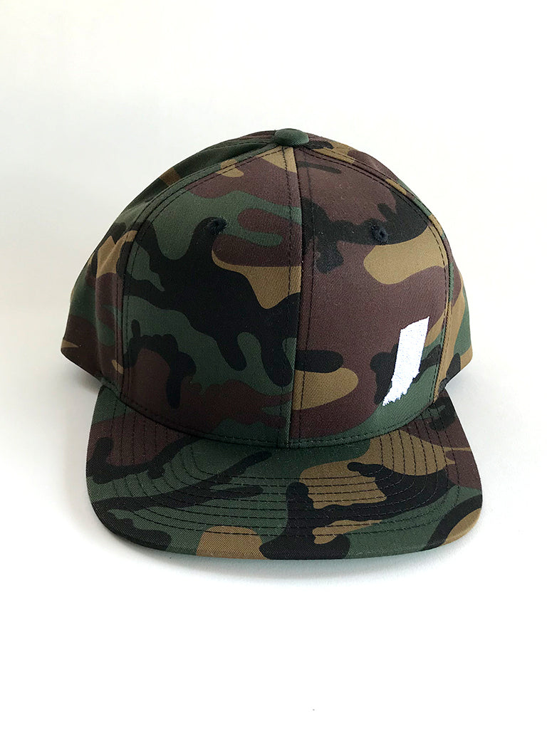 Indiana Camo Snapback - United State of Indiana: Indiana-Made T-Shirts and Gifts