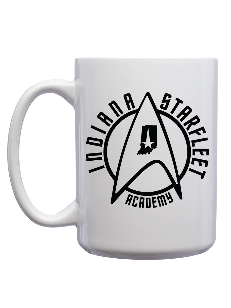 Indiana Starfleet Academy Mug - United State of Indiana: Indiana-Made T-Shirts and Gifts