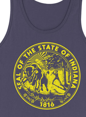 Indiana State Seal Tank