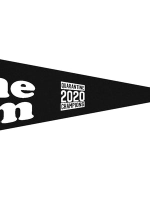 Stay-At-Home Team Pennant