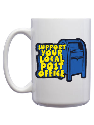 Support Your Local Post Office Mug