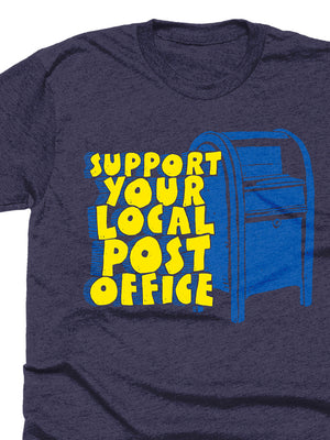 Support Your Local Post Office Tee