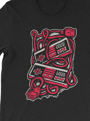 Support Your Local Gamer Tee - United State of Indiana: Indiana-Made T-Shirts and Gifts