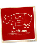 Tenderloin Sticker -  from United State of Indiana  - 2
