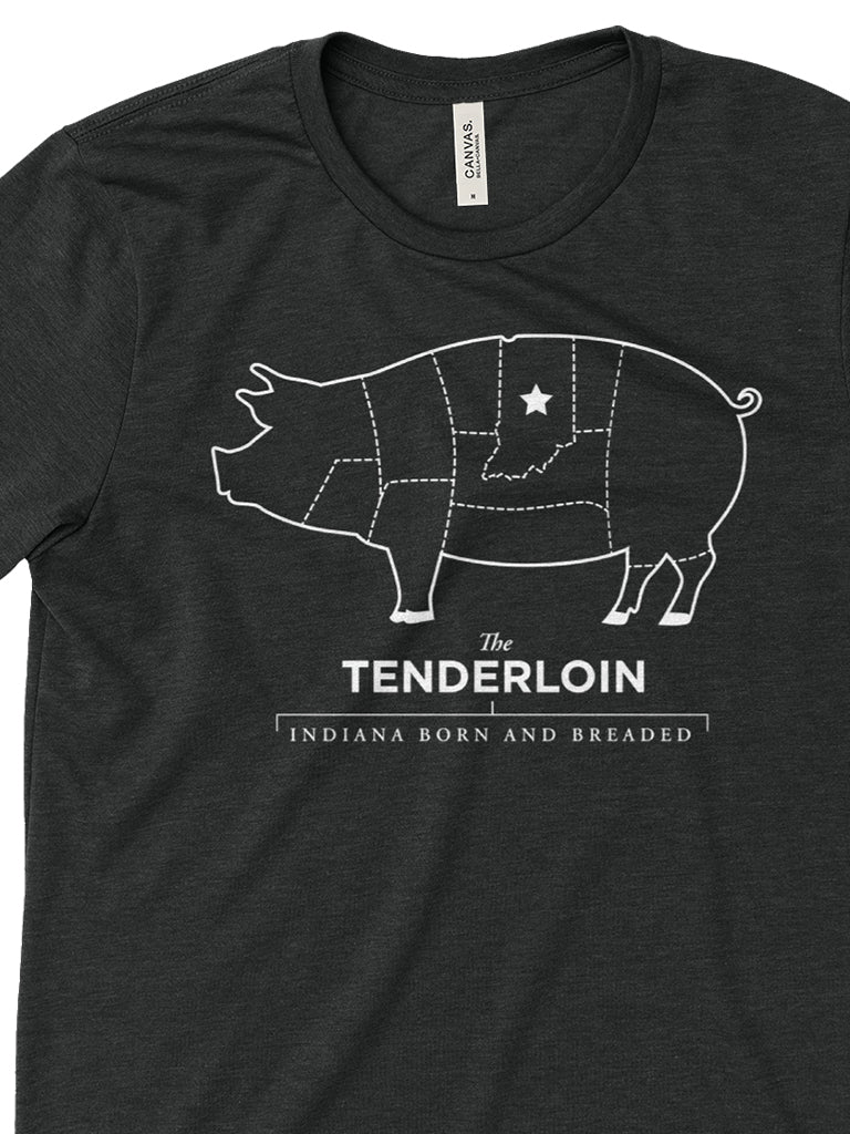 Tenderloin Tee - United State of Indiana: Indiana-Made T-Shirts and Gifts