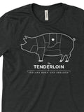 Tenderloin Tee ***CLAEARANCE*** - United State of Indiana: Indiana-Made T-Shirts and Gifts