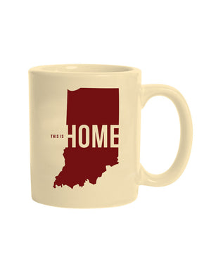 This is Home Mug - United State of Indiana: Indiana-Made T-Shirts and Gifts