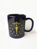 Torch and Stars Mug - United State of Indiana: Indiana-Made T-Shirts and Gifts