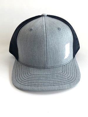Indiana Two-Tone Mesh Trucker Cap
