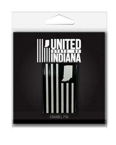 USI Flag Enamel Pin - United State of Indiana: Indiana-Made T-Shirts and Gifts