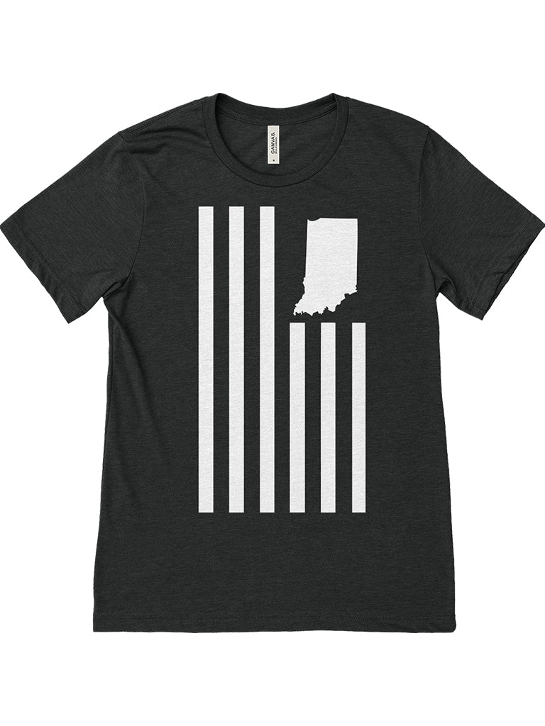 USI Flag Tee - United State of Indiana: Indiana-Made T-Shirts and Gifts