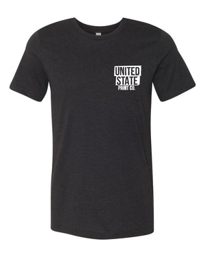 United State Print Co. Tee - United State of Indiana: Indiana-Made T-Shirts and Gifts