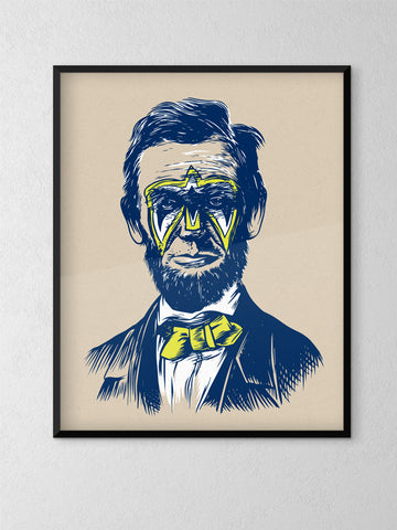 Ultimate Lincoln Poster - United State of Indiana: Indiana-Made T-Shirts and Gifts
