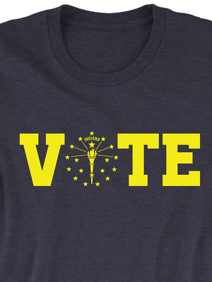 Vote Torch and Stars Tee