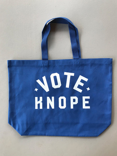 Vote Knope Tote Bag - United State of Indiana: Indiana-Made T-Shirts and Gifts