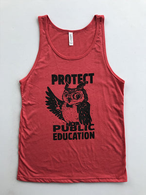 Wise Owl Tank - United State of Indiana: Indiana-Made T-Shirts and Gifts